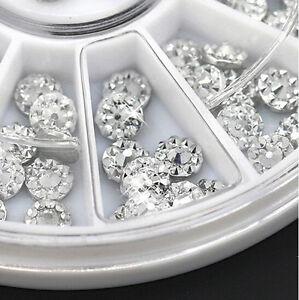 100-X-4mm-Acrylic-Studs-Nail-Art-Stickers-3D-DIY-Tips-Rhinestone-Decor-Wheel