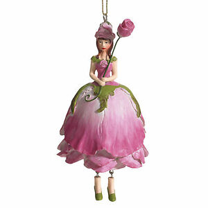 Blumenmaedchen-Fee-Deko-Figur-Elfe-Rose-rosa-haengend