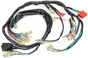 main wire wiring harness 73 74 75 cb750 k cb 750 four wire loom k3 rh ebay com cb750 simplified wiring harness cb750 wiring harness diagram