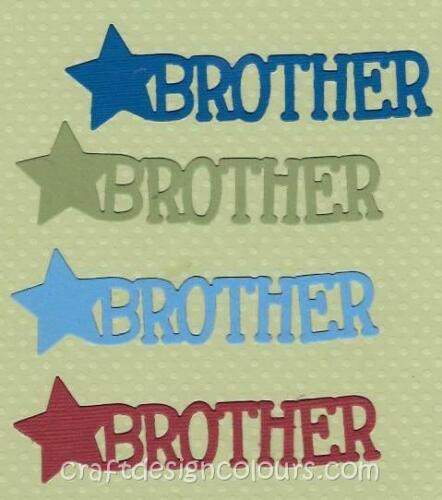 """4 X  WORD /""""BROTHER/"""""""
