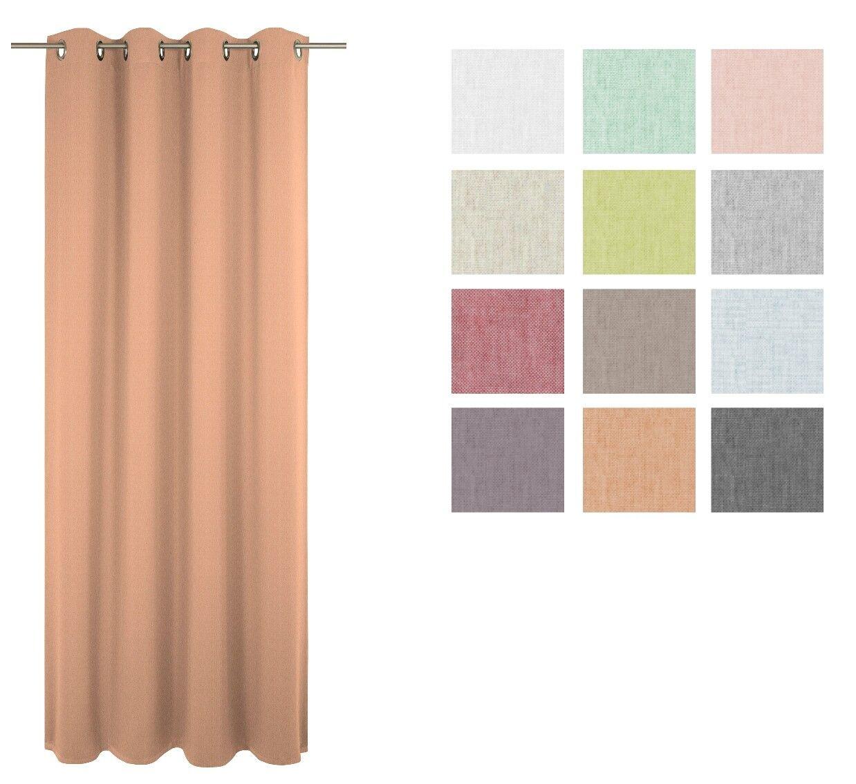 Fertigvorhang Fertigvorhang Fertigvorhang   Ösenschal Sunday Farbe 70 Rosa   5 Größen | Ausreichende Versorgung  6f82df