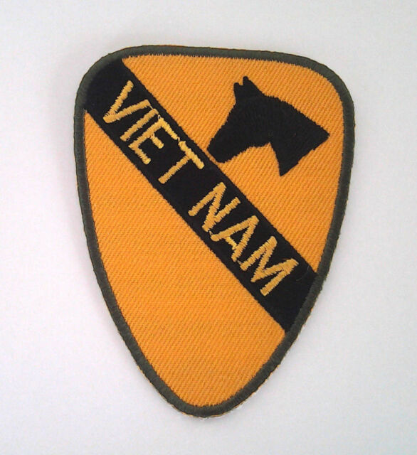 *** 1ST CAVALRY VIETNAM *** Miltary Veteran US ARMY Patch P4802 E