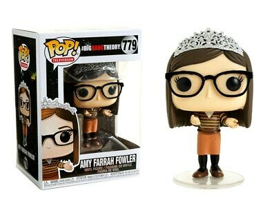 Funko Vinyl figure 779 The Big Bang Theory S2 Amy Farrah Fowler with Tiara Pop