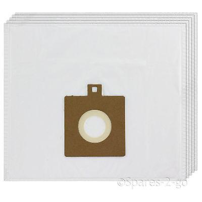 5 x tissu sacs aspirateur pour electrolux boss B3300 B3306 hoover sac