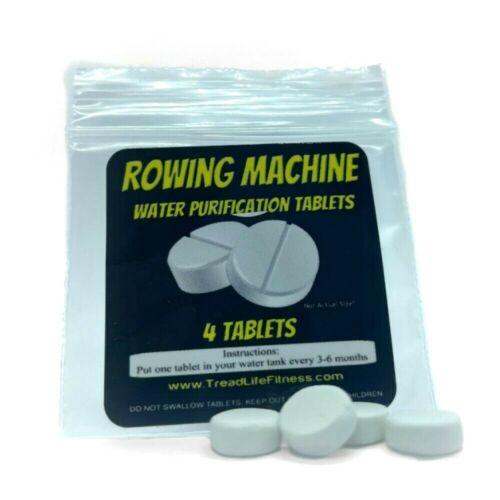 Rowing Machine Water Purification TabletsRower Tank Cleaner Algae4-Pack