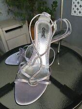 CARLOS SANTANA IDOL Sexy Rhinestone Stilettos Dress Shoes Strappy Heels Sz 7 M