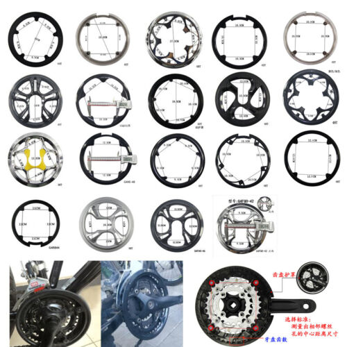 36404244464852T Bike Riding Sprocket Cranksets Chainring Guard Protector
