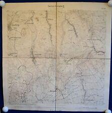 ANNABERG - Generalstabskarte 1875 - sehr detailliert