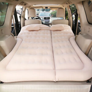 New-Portable-Foldable-SUV-Car-Bed-6pcs-Waterproof-Air-Bags-Adjustable-For-Travel