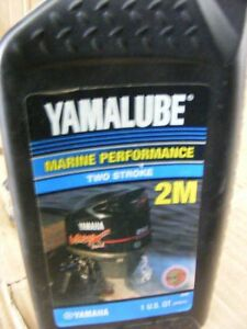 Details about Yamaha Yamalube 2-M Outboard Two Stroke TC-W3 Performance Oil  • 1 Quart •32