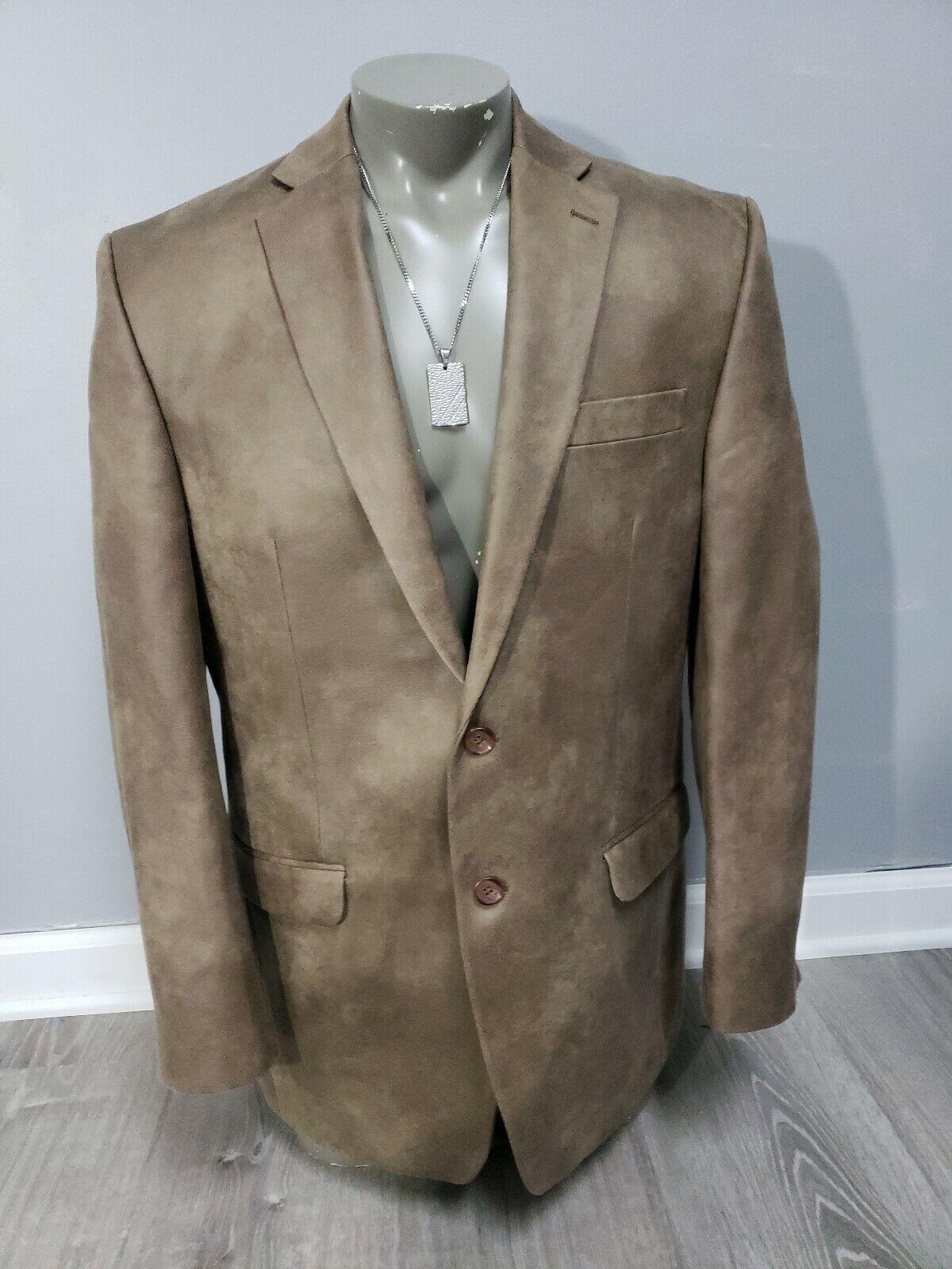 Lauren Ralph Lauren  Imitación de Cuero para Hombre Deportes Blazer envejecido marrón Talla 42L  perfecto