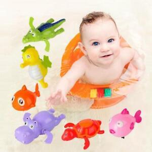 Swimming-Animal-Pool-Toys-Wind-up-Toys-Baby-Toy-Kids-Bath-Bathtub-Time-Fun-JA