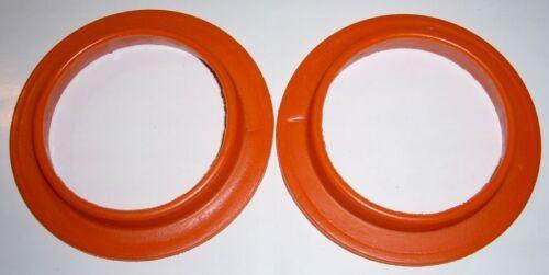 Kadett C orange Federauflagen aus PU flaches Profil GT Opel Manta//Ascona A//B