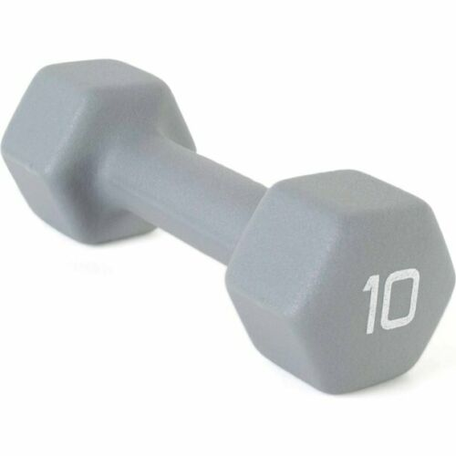 CAP NEOPRENE HEX IRON DUMBBELL HAND WEIGHTS BARBELL GYM WORKOUT 2LB 3LB 5LB 8LB
