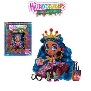 Hairdorables-Comic-Reina-Exclusivo-Nuevo-Edicion-Limitada-Ucc-Convencion-Muneca