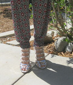 new-Silver-4-5-034-Stiletto-High-Heel-Peep-Toe-Womens-Stunning-Sandal-shoes-Size-6