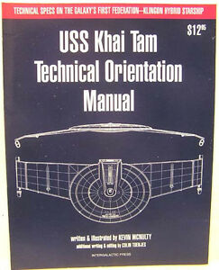 1994-USS-Khai-Tam-Technical-Orientation-Manual-Star-Trek-Klingon-Hybrid-Ship