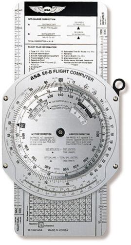 Aluminum ASA-E6B NEW ASA Metal E6-B Flight Computer