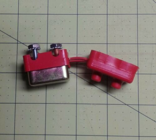 Coleman popup camper battery 40 amp self resetting fuse and insulator 4759-0081