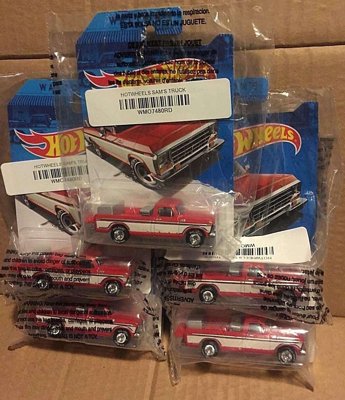 Hot Wheels 2015 Sam Waltons 1979 Ford F-150 Camioneta Lote de 5