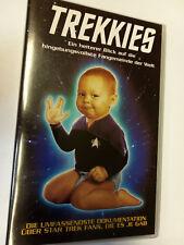 TREKKIES Star Trek Fan Dokumentation PARAMOUNT VHS Video Kassette RETRO KULT TOP