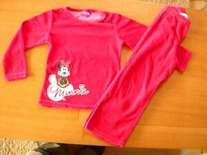 DISNEY-Pyjama-rouge-4-5-ans
