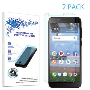 2-Pack For Alcatel TCL LX A502DL Tempered Glass Screen Protector