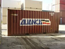 Used 20 Dry Van Steel Storage Container Shipping Cargo Conex Seabox Cleveland