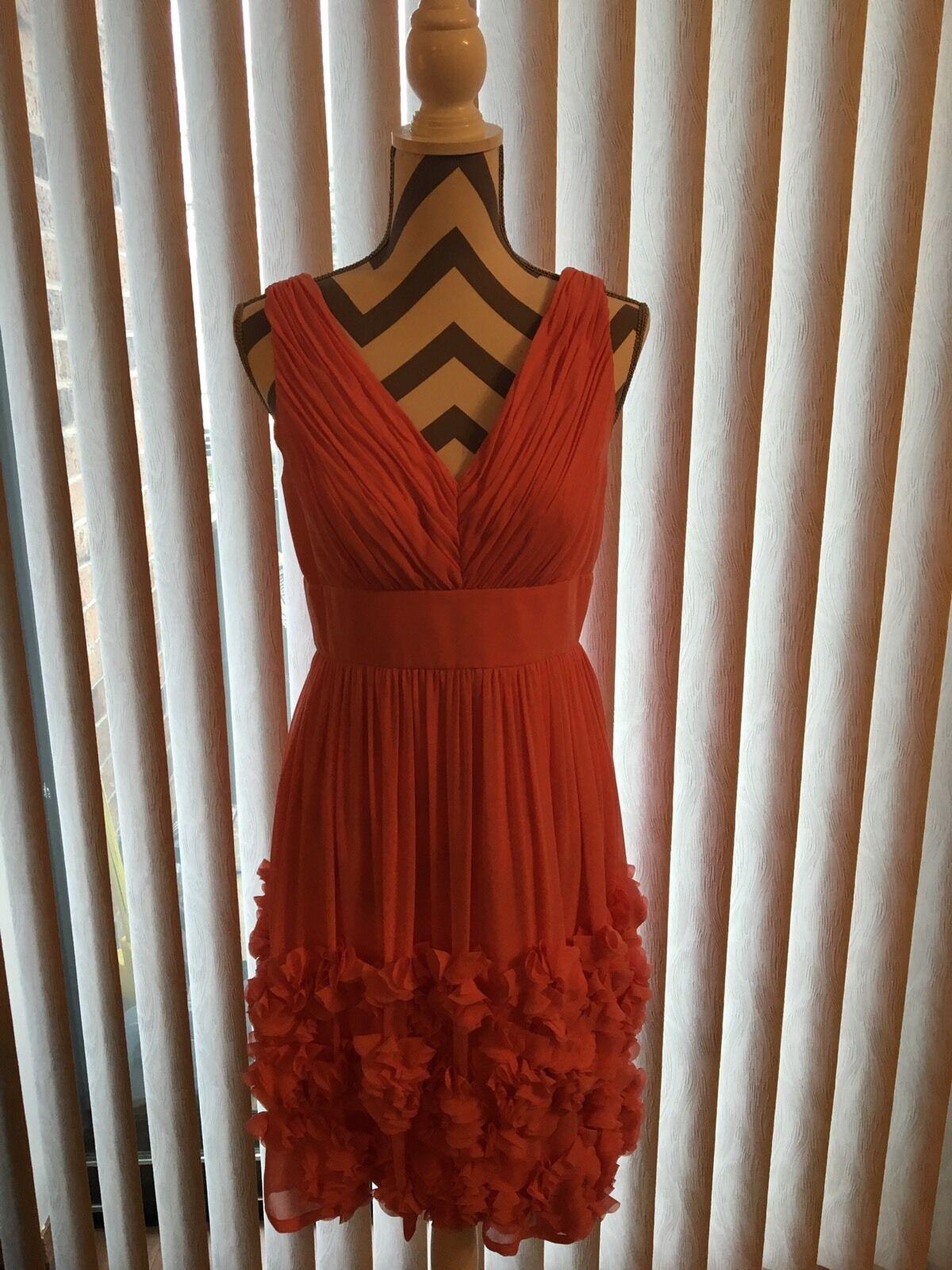 Dress women Morgan,Size 6,Peach(coral),Sexy , New, Knee Knee Knee 388e92