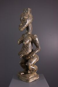 STATUE-SENUFO-AFRICAN-ART-AFRICAIN-PRIMITIF-AFRICANA-AFRIKANISCHE-KUNST