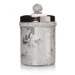 16cm-Crackle-Bathroom-Cotton-Wool-Jar-Pot-Container-Bath-room-Accessories