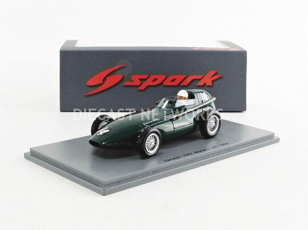 barato SPARK - 1 43 - VANWALL VW2 - GP MONACO MONACO MONACO 1956 - S7200  grandes precios de descuento