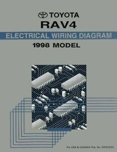 1998 Toyota RAV4 Wiring Diagrams Schematics Layout Factory ...
