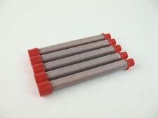 Titan 500 200 15 50020015 Airless Spray Gun Filter 150 Mesh 5 Pack Red