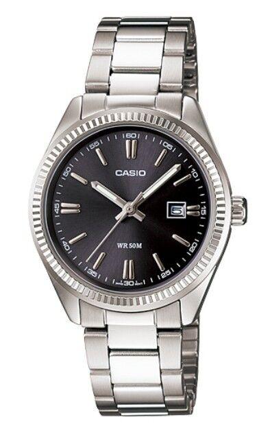 Casio LTP-1302D-1A1 Orologi, Donna con data,  50 metri
