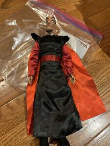 "12"" JAFAR Classic Doll Aladdin Jasmine Villain Action Figure Toy Disney Store"