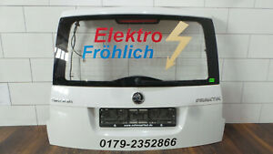 Heckklappe-Skoda-Roomster-5J-Praktik-Weiss-LF9E-Original