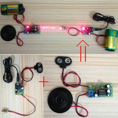 Laser Infrarot Wireless Audio Transmission Transceiver DIY Kit 20-50M Für MP3