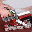 2016 Pro Trendy Smart Clever Cutter Knife & Cutting Board Scissors Kitchen Tool