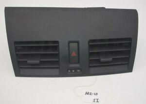 10 11 12 13 Mazda 3 Center Dash Air Vents W// Hazard Switch OEM BBM4-55211