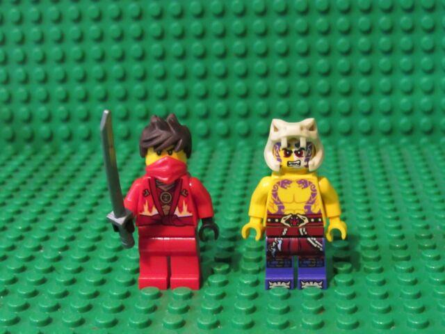 BRAND NEW Ninjago 70756 Dojo Showdown Tournament Lego KAI MINIFIGURE w// Skythe