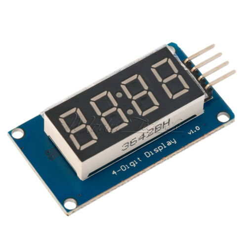 4-Bits TM1637 Digital Tube LED Display Module With Clock Display For Arduino