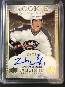 2016-17-Zach-Werenski-Exquisite-Rookie-Signatures-Blue-Jackets-225