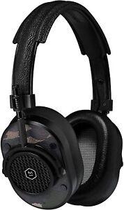 Maestro y dinámico MH40 Plegable cubre-oreja Auriculares IOS-Camuflaje/Negro