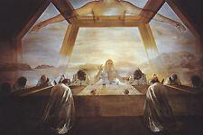 Incorniciato stampa-SALVADOR DALI' Sacrament di l'ultima cena (PITTURA FOTO)