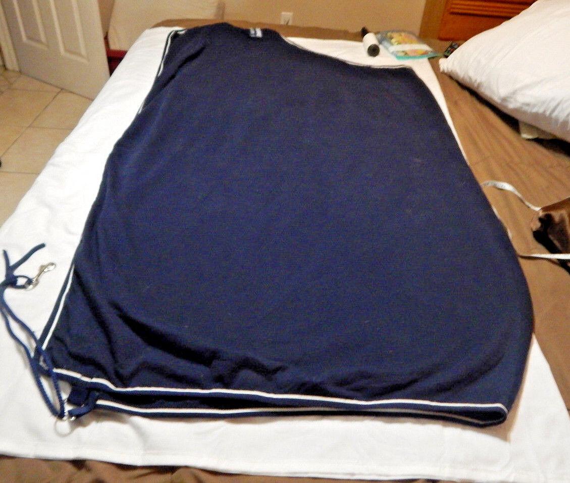 Horseware Cooler Rambo Horse  Sheet 69  bluee used  quality product