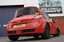 "Milltek 2.76"" Resonated Cat Back Exhaust Renault Megane 230/F1/R26/R - SSXRN401"