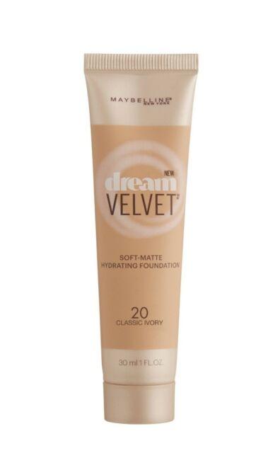 #20 CLASSIC IVORY Maybelline Dream Velvet Soft-Matte Hydrating Foundation 30ml