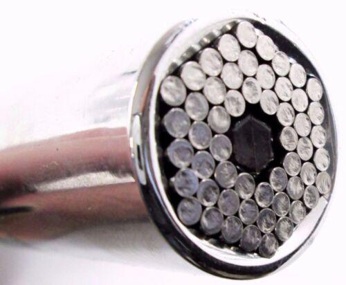 "BERGEN 3//8"" Drive Universal Gator Gripper Grip Socket Remover Tool 7 19mm 1252"