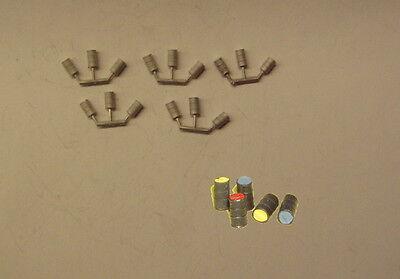 Collezione Qui P&d Marsh N Scala N B496 Oildrums (15) Pressofusi Da Dipingere Gamma Completa Di Articoli